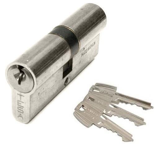 Cylindre TESA TE5 - 40x40mm - nickelé - 50304040N