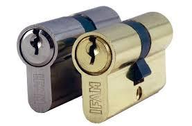 Cylindre européen laitonné varié 60mm Série C IFAM - 30+30 - 14100