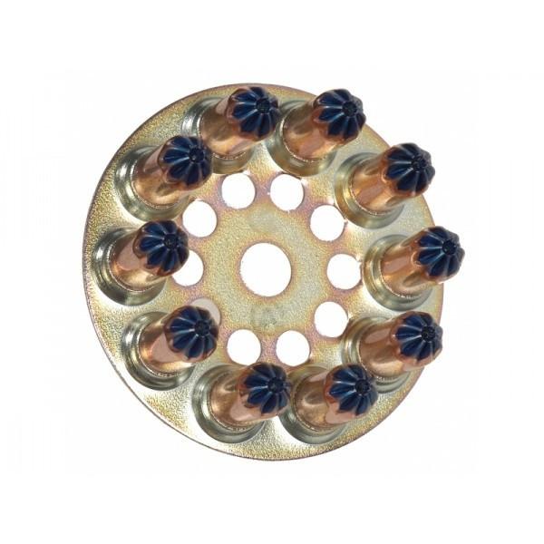 Boîte de 100 Disques charge à poudre 6.3/16 forte Bleue SPIT - 031230