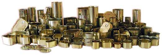 Boîte de conserve 1/6 142 ml SPEM - Ø55 x 68 mm - 150 pièces - 69N
