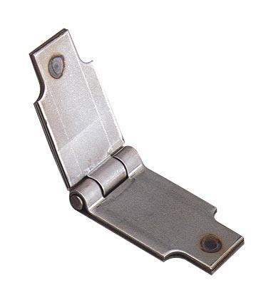 Charnière à souder TORBEL - H.40 mm - Lg totale 140 mm  - 9220400