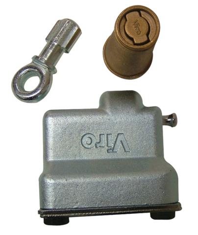 Sabot de rideau Condor 4218 MIDI à cylindre rond - 4218