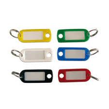 Porte-clé plastique WILMART - Jaune - 14603