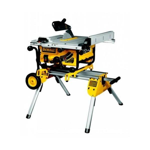 Support stationnaire à roulettes DEWALT - pour DW744 et DW745 - DE7400