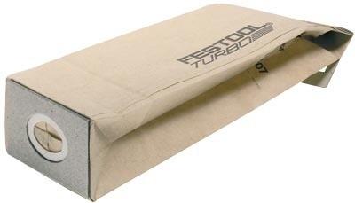 Sac turbo filtre RS 400 FESTOOL - 5 pièces - 489128