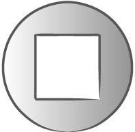 Embout carré SQ1 SCELL-IT - L.25 mm - SQ1025