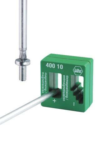 Magnétiseur démagnétiseur pour acier WIHA 52x50x29 mm - 2568