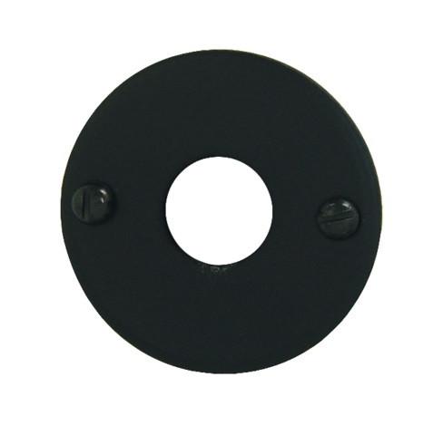 Entrée Ø 43 mm BRIONNE Shérardisé noir - Bec de cane - 1050710SN