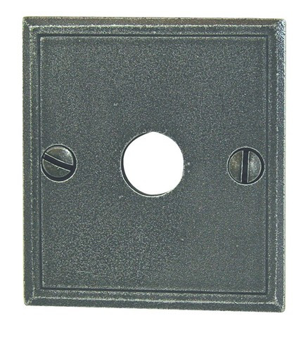 Entrée carré 60 x 66 mm BRIONNE Patiné - Bec de cane - 1052560SP