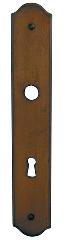 Plaque France BRIONNE Rouillé - Bec de cane - 1042410RO