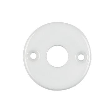 Rosace porcelaine 50 Blanc Ø 9 BRIONNE - 000.4016.01PN