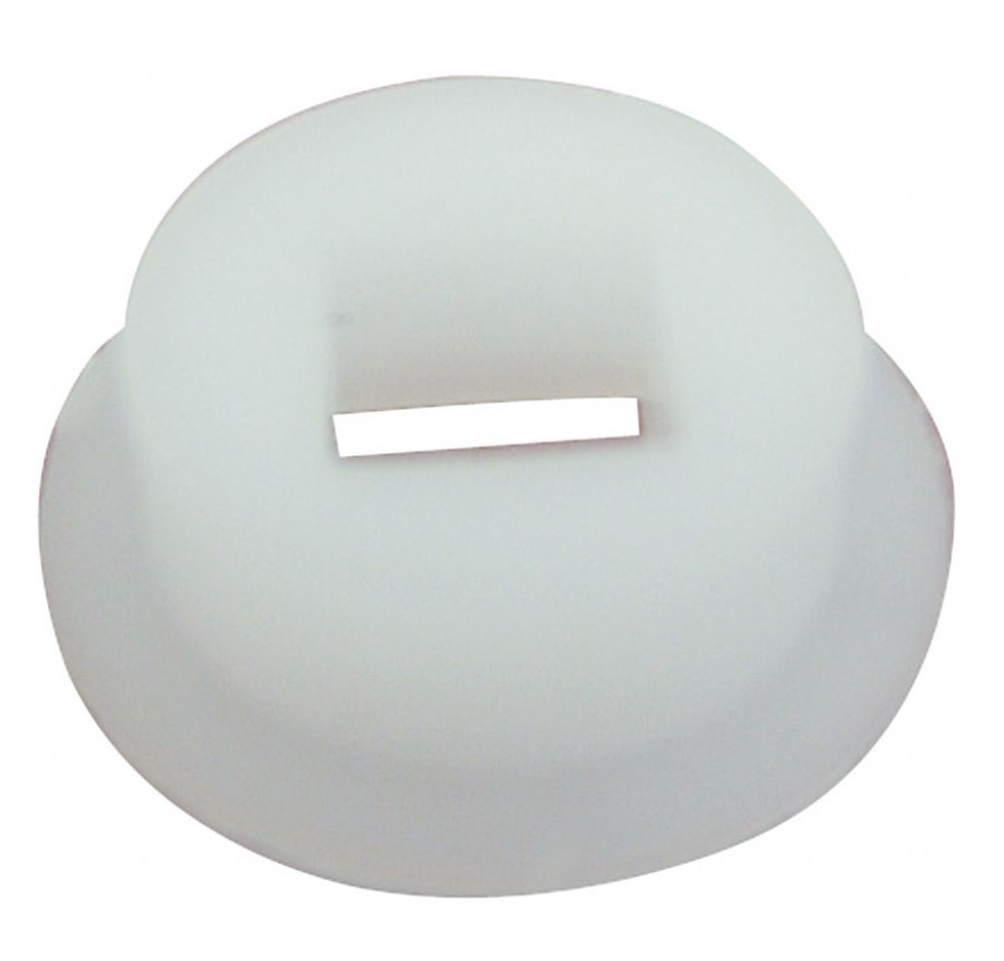 Portée nylon blanc BRIONNE carré 6 mm - 50.1314.01