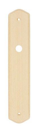 Plaque bois naturel BRIONNE - 240x45 - Condamnation et décondamnation sans bouton - 060.8004.01PN