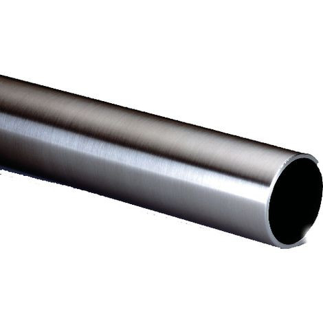 Tube inox 316 poli Ø40 mm Épais.1.5 mm L.2.50M BLINDOMAX pour poignée de tirage - 186