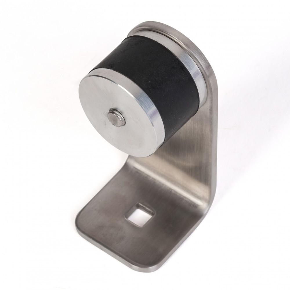 Paire de patte de fixation Inox 316 droite pour tube Ø40 mm - 602