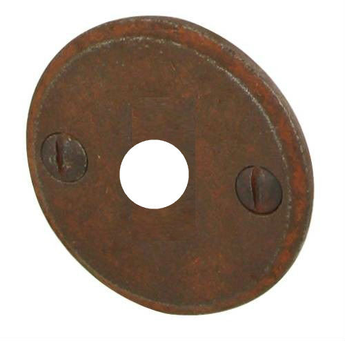 Entrée de porte Ø 43 mm BRIONNE Fer rouillé - Bec de cane - 1050710RO