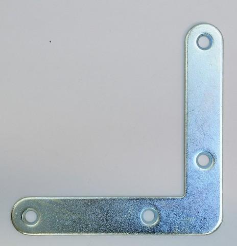Équerre da cadre TORBEL - zinguée blanc - 100x100 mm - épaisseur 2mm