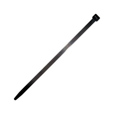 Boîte de 100 Colliers câblage nylon SCELL-IT - Noir - 9 x 300 mm - 6448