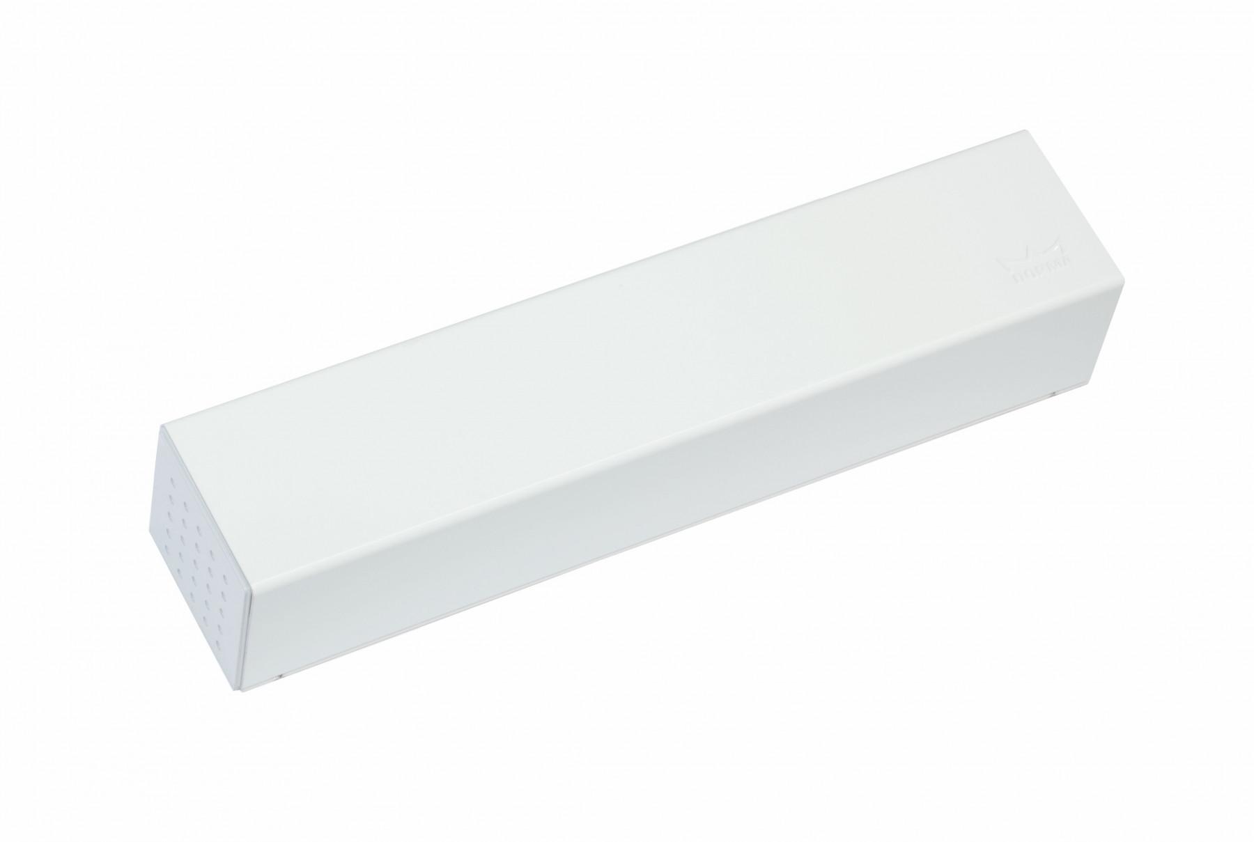 Ferme-porte TS93 B25 sans bras DORMA - Blanc - Force 2 à 5 - côté paumelle - 43080011