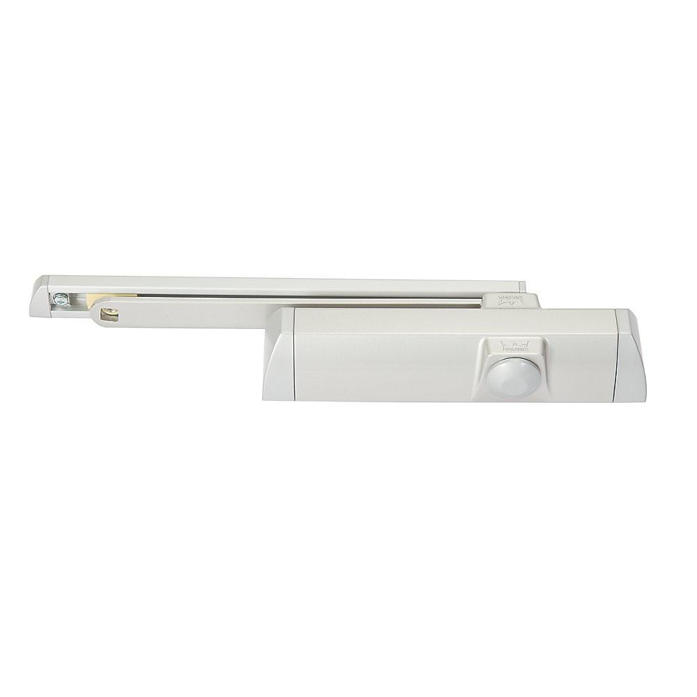 Ferme-porte TS90 bras coulisse DORMA - force 3/4 - Blanc - frein à l'ouverture - toutes positions - 10210411