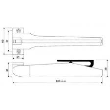 Ferme-porte SPIR - SOCONA - Blanc - F5E