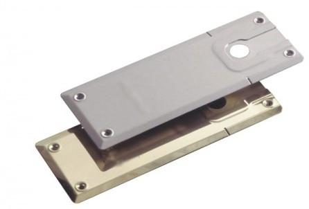 Plaque de recouvrement standard inox brossé 191A031 NORMBAU - 289 x 105 mm - 3050705064