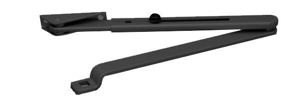 Bras normal pour TS1500 GEZE - Noir - 119576