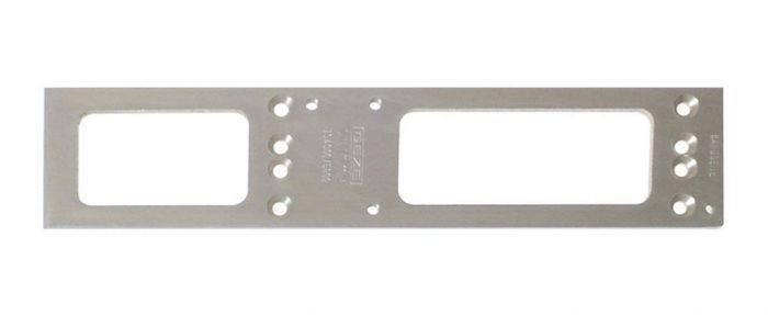 Plaque de montage pour TS4000 et TS5000 GEZE - Argent - 049185