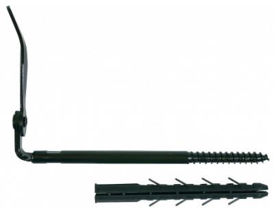 Arrêt de volet 0/5 ING FIXATION isolation extérieure - cheville 130 mm - arrêt 190 mm - A070130