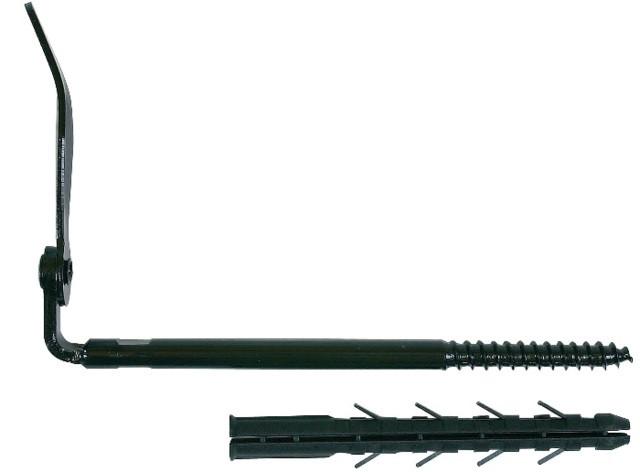 Arrêt de volet 0/10 ING FIXATION isolation extérieure - cheville 130 mm - arrêt 250 mm - A070190