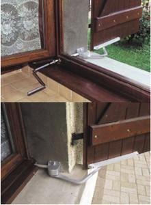 SystèmBoy Droit MONIN aluminium anodisé - Ép. mur maxi 400 mm - 152 250
