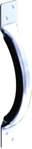 Poignée en applique MANTION - Acier embouti - A patte - 245x32xH.50 mm - 1298