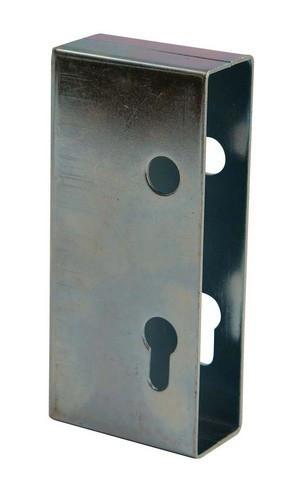 Boîtier acier AVL pour serrure de portail - Épaisseur 40mm - 7099