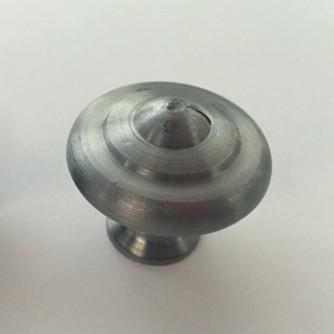 Bouton rustique BROS N°24 acier poli verni - Ø30 - 24-A-30-2