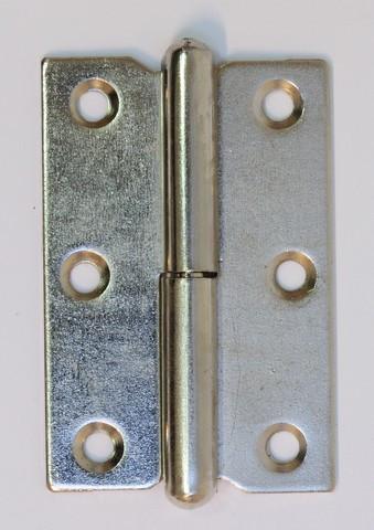 Charnière à dégonder à noeud roulé MONIN - droite - 70 x 45 mm - 433 270