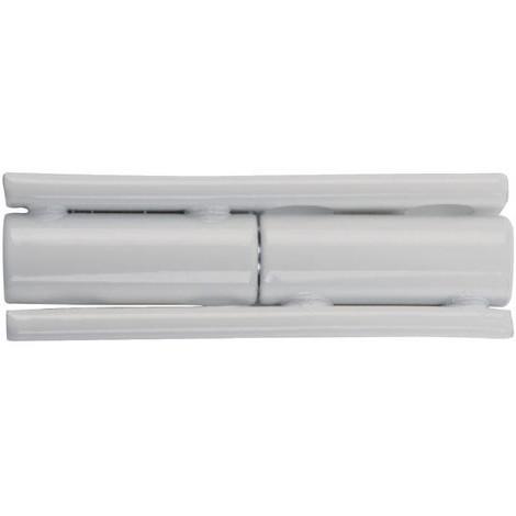 Paumelle 172A blanche QDRC - PU050F45