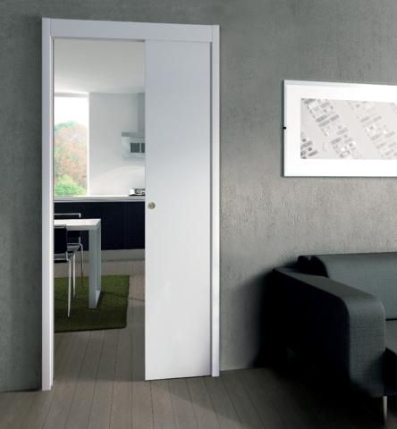 kit ch ssis de porte galandage orchidea fibrotubi 320100 ferrure de porte coulissante. Black Bedroom Furniture Sets. Home Design Ideas