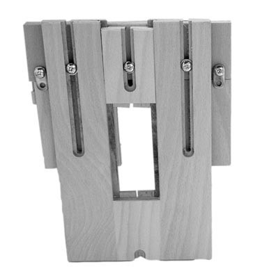 K041 DUO 46/15 assembleur bois acier zingué sect. min. 80/30 mm