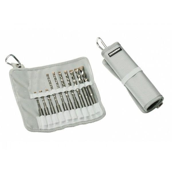 Trousse de 10 forets béton Twister Plus DIAGER - 116D