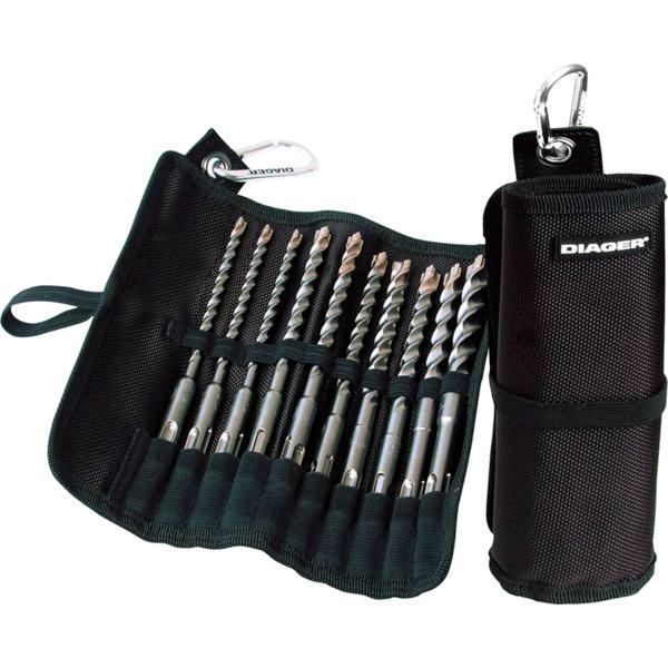 Trousse 10 forets Booster Plus DIAGER - 072B