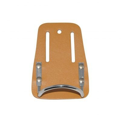 Porte-marteau cuir et boucle acier DIMOS - 205720