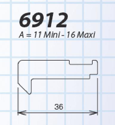 Crochet pour Solo et Senzo 36 mm LA CROISEE DS - 6912