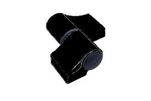 Paumelle Loira+ douille à visser rupture Noir 23 FAPIM - sans kit de fixation entraxe 67 ép.20 FAPIM - 7010VI-23