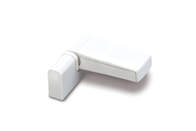 Paumelle FLORENCE 80 blanc 9010 - FAPIM - 7640I