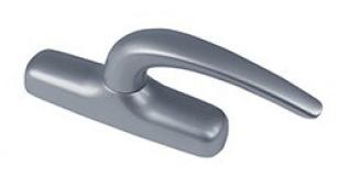 Crémone double fourche Nefer midi FAPIM - gris G6 - 0787BI-G6