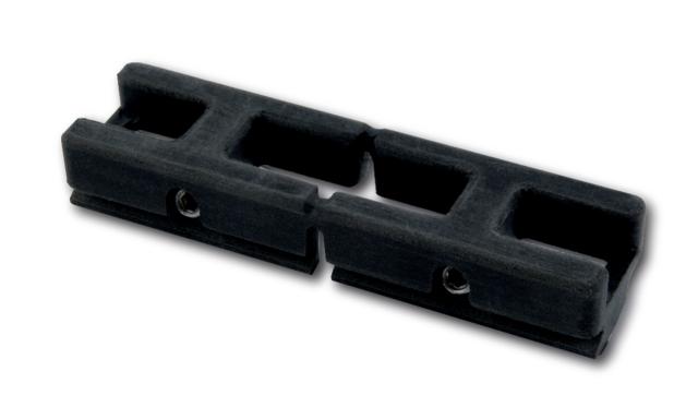 Gâche double nylon FAPIM pour profiles gorge européenne - 4115