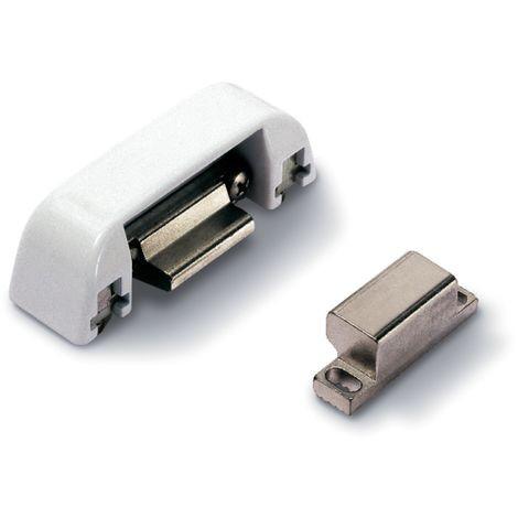 Gâche réglable antipanique Panama 8500I FAPIM pour recouvrement 0-11mm - Blanc 9010 - 8500I_32