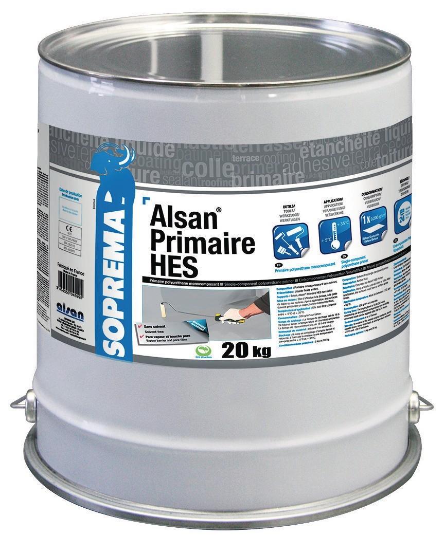 Résine polyréthane Alsan SOPREMA - conditionnement en bidon - QPE06067