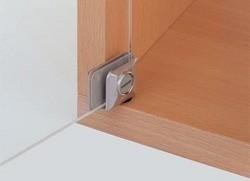 Pivot pour porte de verre - EMUCA - ouverture 105° - 287010