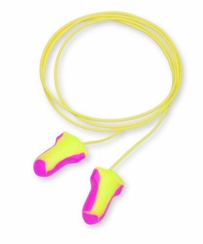 Bouchons d'oreille à usage unique Laser Lite HONEYWELL - Sans cordelette - Boîte 200 - 330110